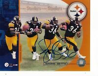 Jerome Bettis Autographed Pittsburgh Steelers 8X10 Photo