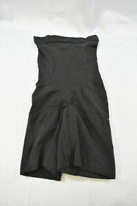 Spanx Higher Power Tummy Control Shapewear Shorts. Women's Size L, Black