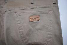 Vintage Wrangler Texas beige jeans W 34 L 32 zip fly