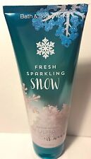 Bath & Body Works Fresh Sparkling Snow Body  Cream New Christmas 2016