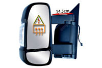 Fiat Ducato Full Door Wing Mirror ELECTRIC HEATED MEDIUM ARM Left  N/S 2006 On
