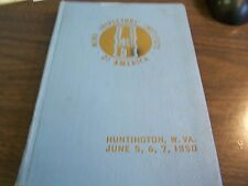 1950 Proceedings Of The 40Th Convention Mine Inspectors Institute Of America