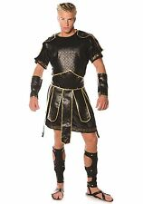Men's Spartan Faux Leather Costume size Standard (with defect)