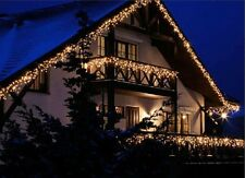 White 60 LED String Outdoor Light Chain 4 Metres 230V / 33W Tree Christmas Xmas