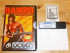 RAMBO First Blood Part II-VERSIONE DEL DISCO-Commodore 64 (C64)