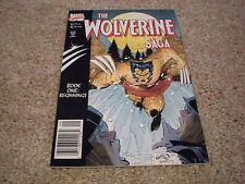 WOLVERINE SAGA #1 (1989 Series) MARVEL COMICS Rob Liefeld Art NM/MT