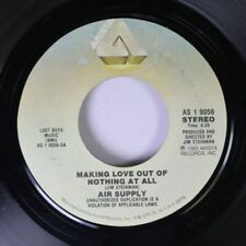 Rock 45 Air Supply - Making Love Out Of Nothing At All / Late Again (Live Versio