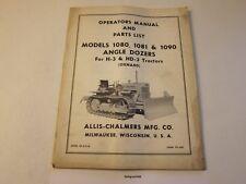 Original Allis Chalmers 1080 1081 1090 Dozer Operators Manual More Listed Lg6