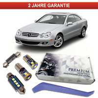 Mercedes W209 CLK C209 LED Innenraumbeleuchtung Premium Set 13 SMD Weiß Canbus