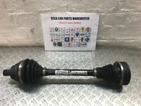 2009 VW PASSAT B6 2.0 TDI 5SP MANUAL FRONT PASSENGER LEFT DRIVESHAFT 1K0407271KF