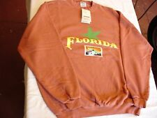 NEW LONG SLEEVE SWEATSHIRT COLLECTOR FLORIDA GATOR USPS STAMP STARFISH XL