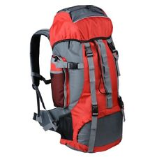 Outdoor Sport Hiking Camping Backpack 70L Rucksack Travel Shoulder Bag Large Red
