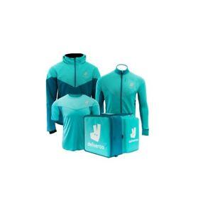Deliveroo Kit: Thermal Bag + Waterproof Jacket + T-Shirt + Helmet + Phone Mount