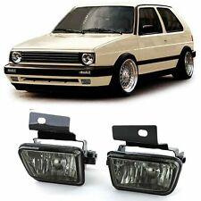 VW GOLF MK 2 MK2 II SMOKED FOG LIGHTS CRYSTAL SMOKED FOG LIGHTS