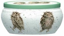 Royal Worcester Wrendale Design candle tin Owl What a Hoot scented boutique