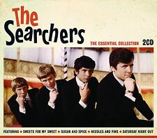 THE SEARCHERS THE ESSENTIAL COLLECTION - 2 CD BOX SET - NEEDLES AND PINS & MORE