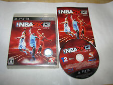NBA 2K13 Playstation 3 PS3 Japan import US Seller