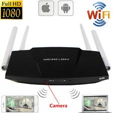 Mini 1080P WIFI HD SPY Hidden IP Camera Router Wireless Video Recorder Nanny Cam