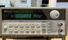 Hp 33120a 15 Mhz Function Arbitrary Waveform Generator