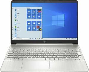 """HP Laptop 15.6"""" Full HD 6 Core 4GHz AMD Ryzen 5 4500U 8GB RAM 256GB SSD Silver"""