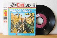 "7"" Hit Come Back - VILLAGE PEOPLE - Y.M.C.A. - The Women - No.1 Hit 1978"