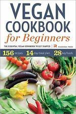 VEGAN COOKBOOK FOR BEGINNERS - ROCKRIDGE PRESS (COR) - NEW PAPERBACK BOOK
