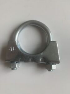 Heavy Duty 40mm 1 9/16 Inch Exhaust Pipe Fixing Fitting Benelli U Clamp