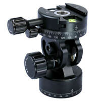 12KG Panoramic Panorama Ball Head for Camera Tripod and Arca Quick Release Plate