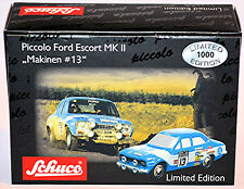 FORD ESCORT MK II #13 MAKINEN bleu 1:90 SCHUCO PICCOLO 05472
