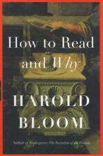 How To Read and Why by Bloom, Harold
