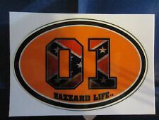Dukes of Hazzard General Lee 01 Hazzard Life Vinyl Decal Sticker