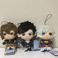GRANBLUE FANTASY Lucifer, Belial Sandalphon Plush Mascot Set of 3 FURYU Gift