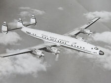 c1955 Official TWA Aerial Photograph Trans World Airline Lockheed Electra