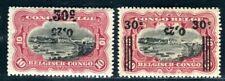 BELGISCH CONGO 1923 63I,IIK * FEHLDRUCKE (K9409