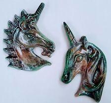 Pair of Unicorn Wall decor Mythical Art