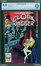 CLOAK AND DAGGER #2 CBCS 9.8 White Pages
