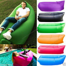 Portable Camping  Lounger Sofa -High Quality Nylon Lazy Air Sleeping Bag
