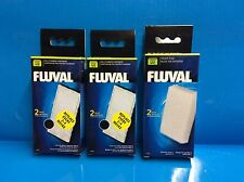 Fluval U2 Aquarium Fish Tank Media Carbon and Foam Pad Set