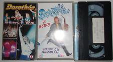 LOT K7 VIDEO VHS SPECIAL DOROTHEE