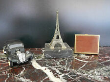 Citroën traction miniature tour Eiffel boite à pastilles CURIOSITY by PN