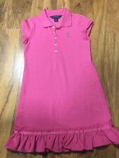 Ralph Lauren filles robe rose taille S (7)