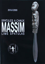 Catalogue Spatules à Chaux MASSIM Lime Spatulas par DR Harry BERAN