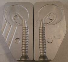 Aluminium  Mould for Laytex/Rubber Twister 10cm Excellent shad/lure, Good action