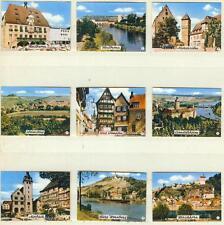 9er Streichholzetikettenserie 39 - mit Städtebilder (Heilbronn und Umgebung)