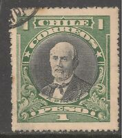 Chile #158 (A43) VF USED - 1928 1p Anibal Pinto