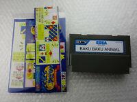 Baku Baku Animal + Flyers Sega STV Sega Titan Video Arcade Game Japan