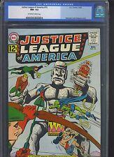 JUSTICE LEAGUE OF AMERICA #15 CGC NM- 9.2; OW-W; Untouchable Aliens!
