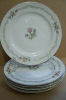 "Set Of 5 Mikasa Fine China FIRST LOVE Bread and Butter 6 1/2"" Plates Japan"