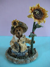 Boyd's Bears Figurine Blossum B. Berriweather.Bloom With Joy