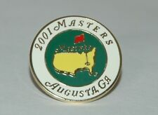 BALL MARKER - The 2001 Masters TIGER WOODS WINNER LaST ONE